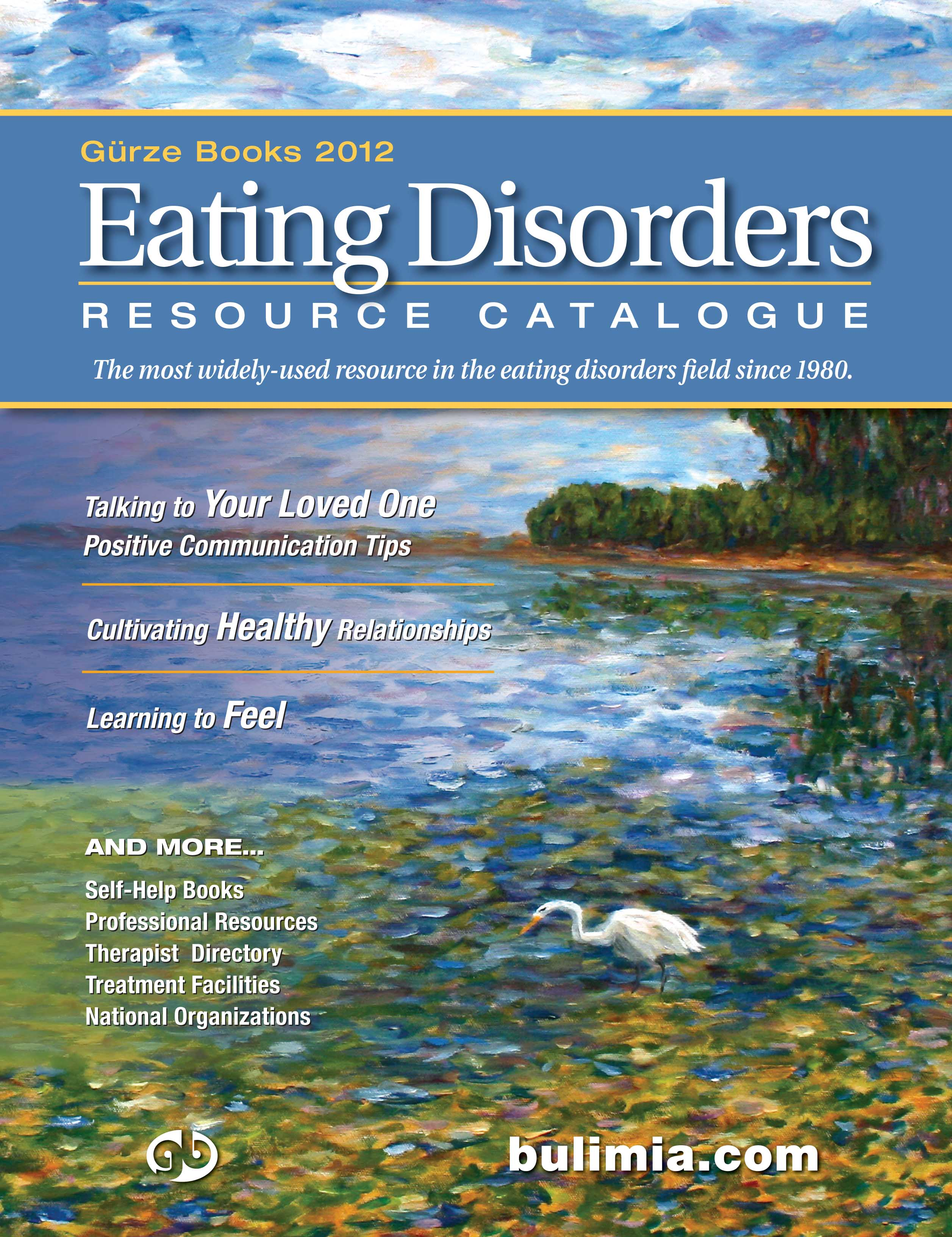 2012 Gurze Books Eating Disorders Resource Catalogue