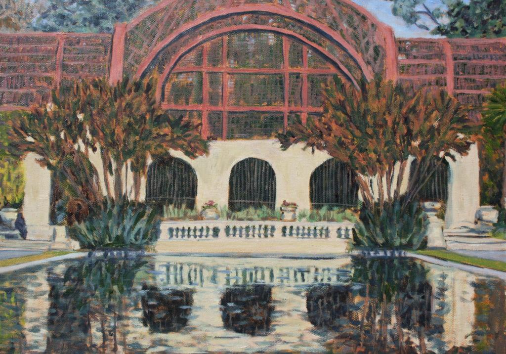 Botanical Building detail