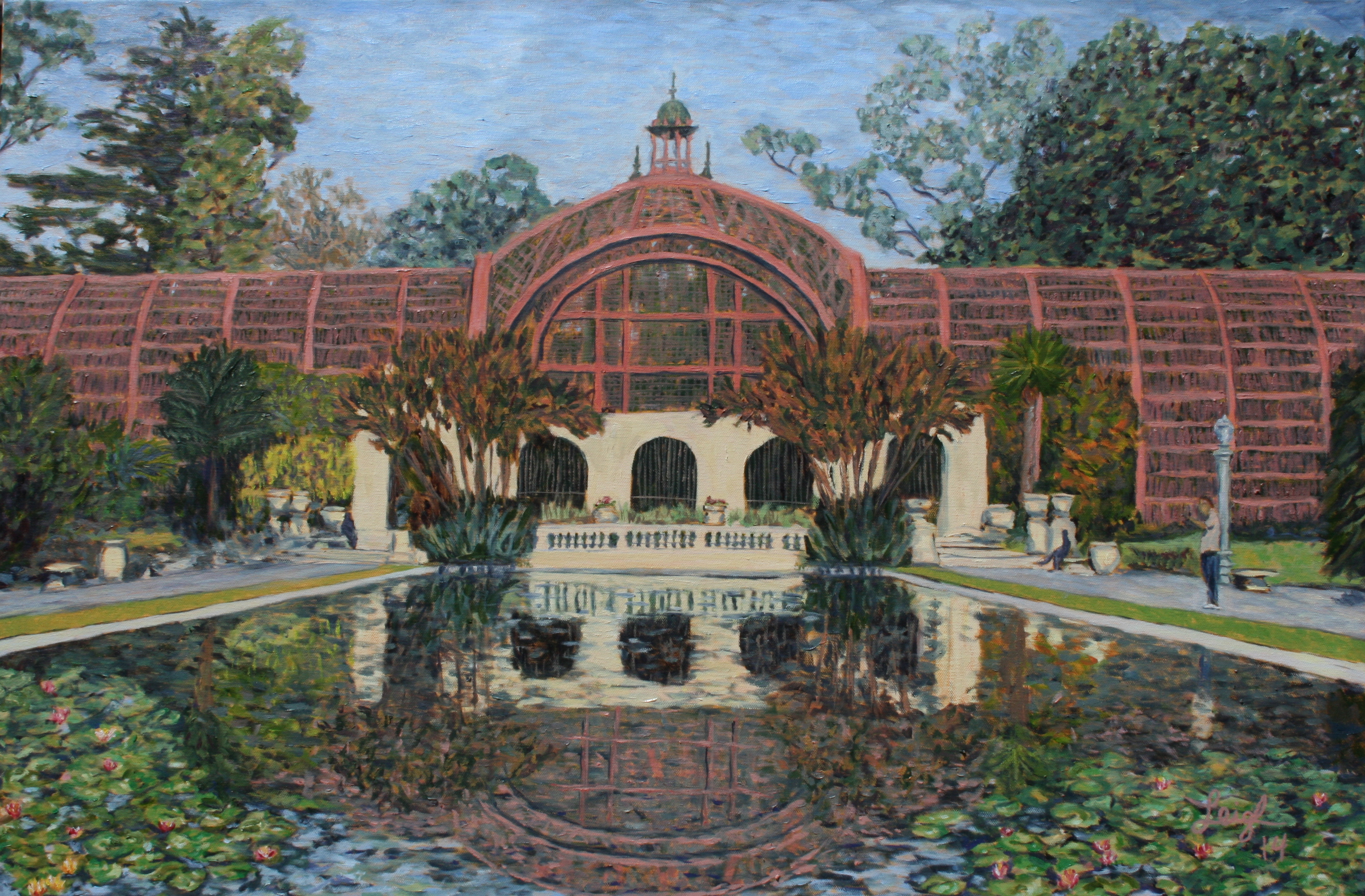 Botanical Building  ~   2014  •  36 x 24