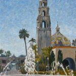 Explorer Pass Painting  ~   Balboa Park Cultural Partnership 2016  •  20 x 30