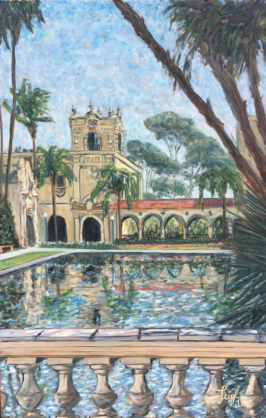 Casa Del Prado  ~   Steve Vargo, Vista, CA 2016 • 20 x 30