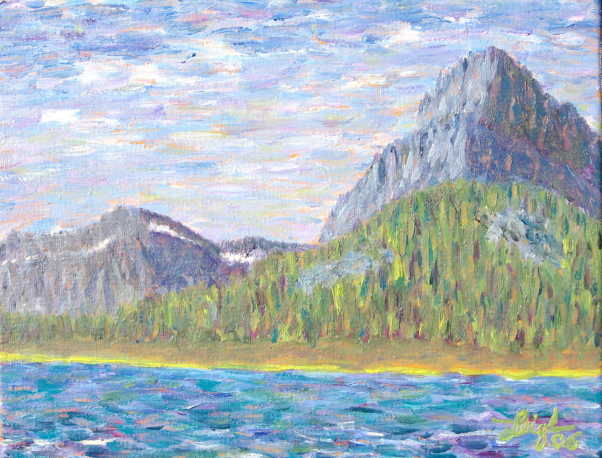 Many Glacier #1  ~   Private collection Kalispell, MT 2006 • 11 x 14