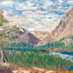 Many Glacier #2  ~   Private collection, Kalispell, MT 2006  •  11 x 14