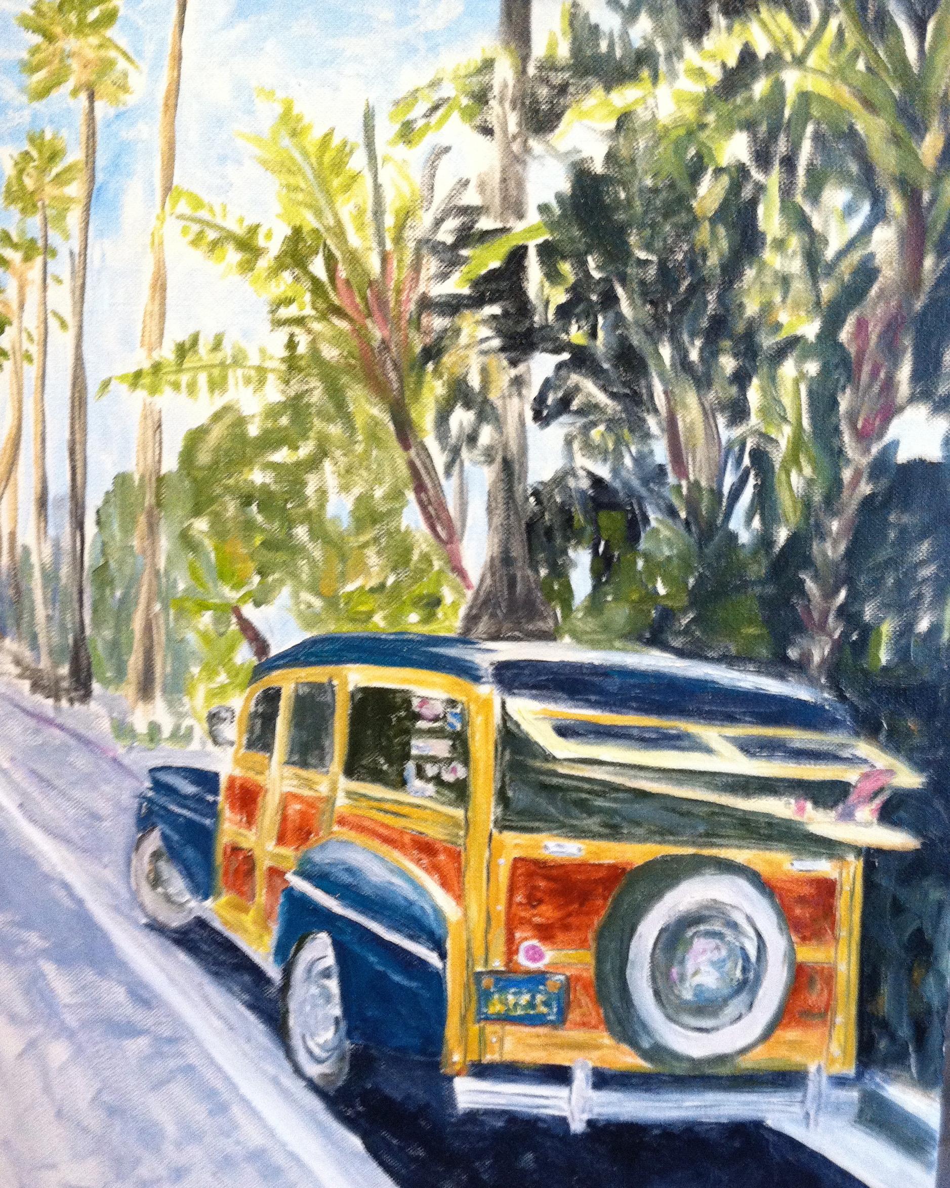 Woody in Encinitas  ~   Jonathan Rubbo, Escondido, CA 2013 • 16 x 20