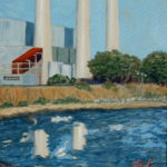 Morro Bay Power Plant  ~   Neil Cohn, Boston, MA 2007  •  24 x 30
