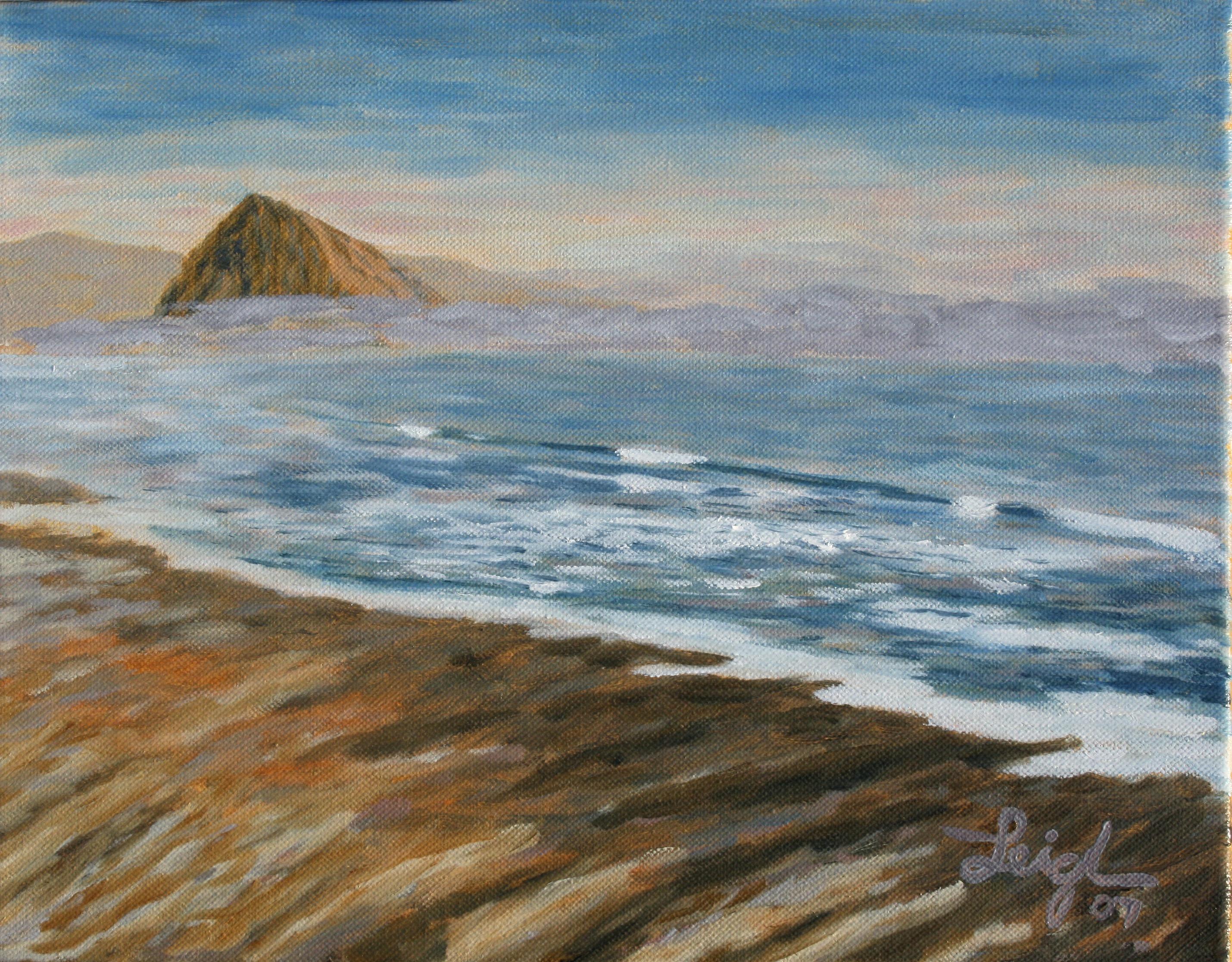 Calm sketch  ~   William Jacobson, Murrieta, CA 2007  •  14 x 11