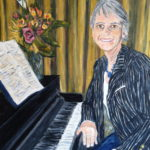 Lindsey at the Piano  ~   2013  •  18 x 24