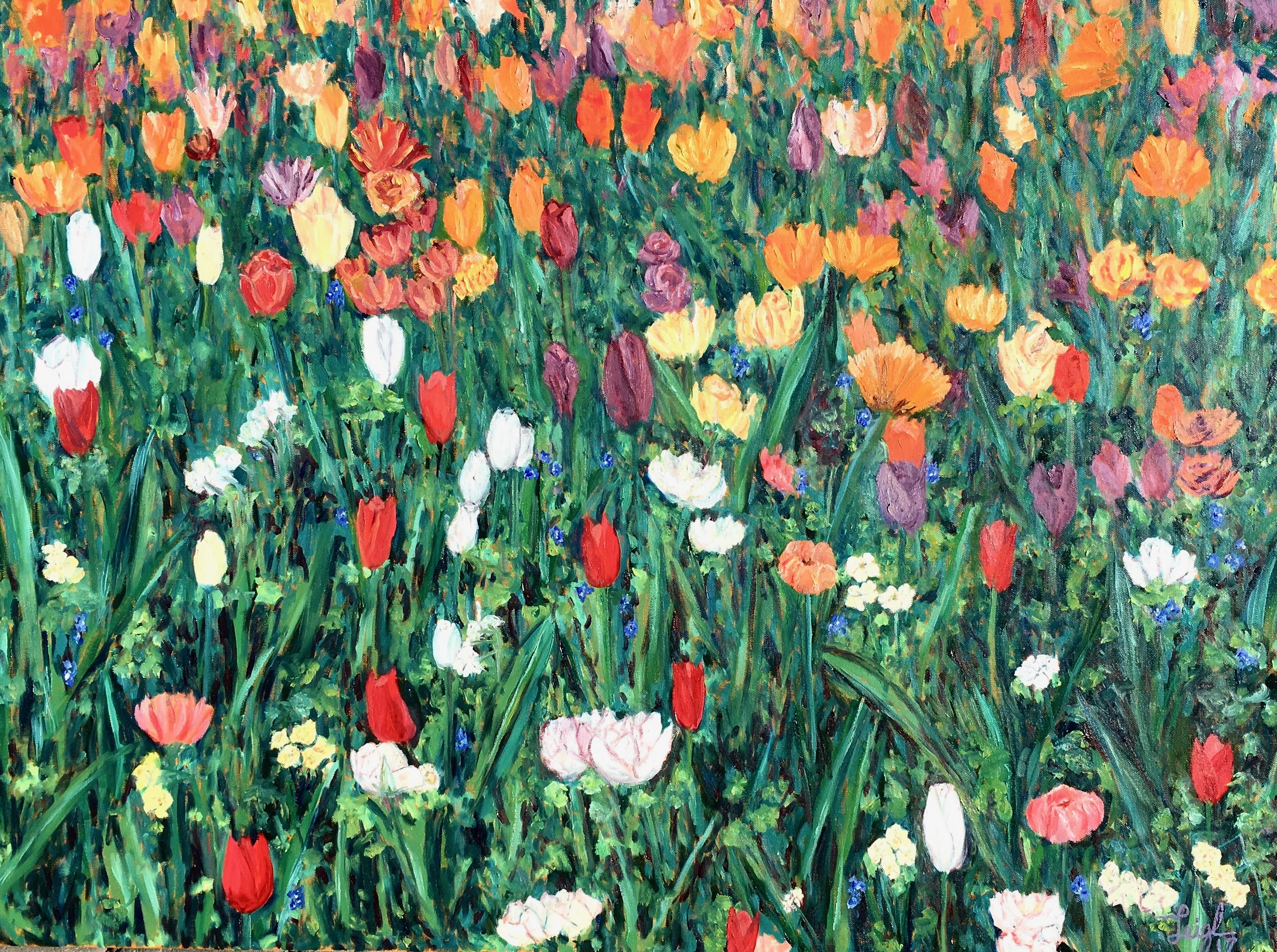 Keukenhof Flowers #1  ~  Ana Miletic Sedy, Rancho Penasquitos, CA   2017  •  40 x 30