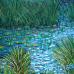 Water lilies  ~   Neil Cohn, Chicago, IL 2002 (revised 2008)   •  22 x 28