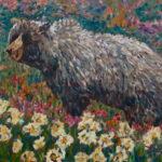 Grizzly Bear  ~   Christine Smith, Toronto, ONT 2008  •  18 x 24
