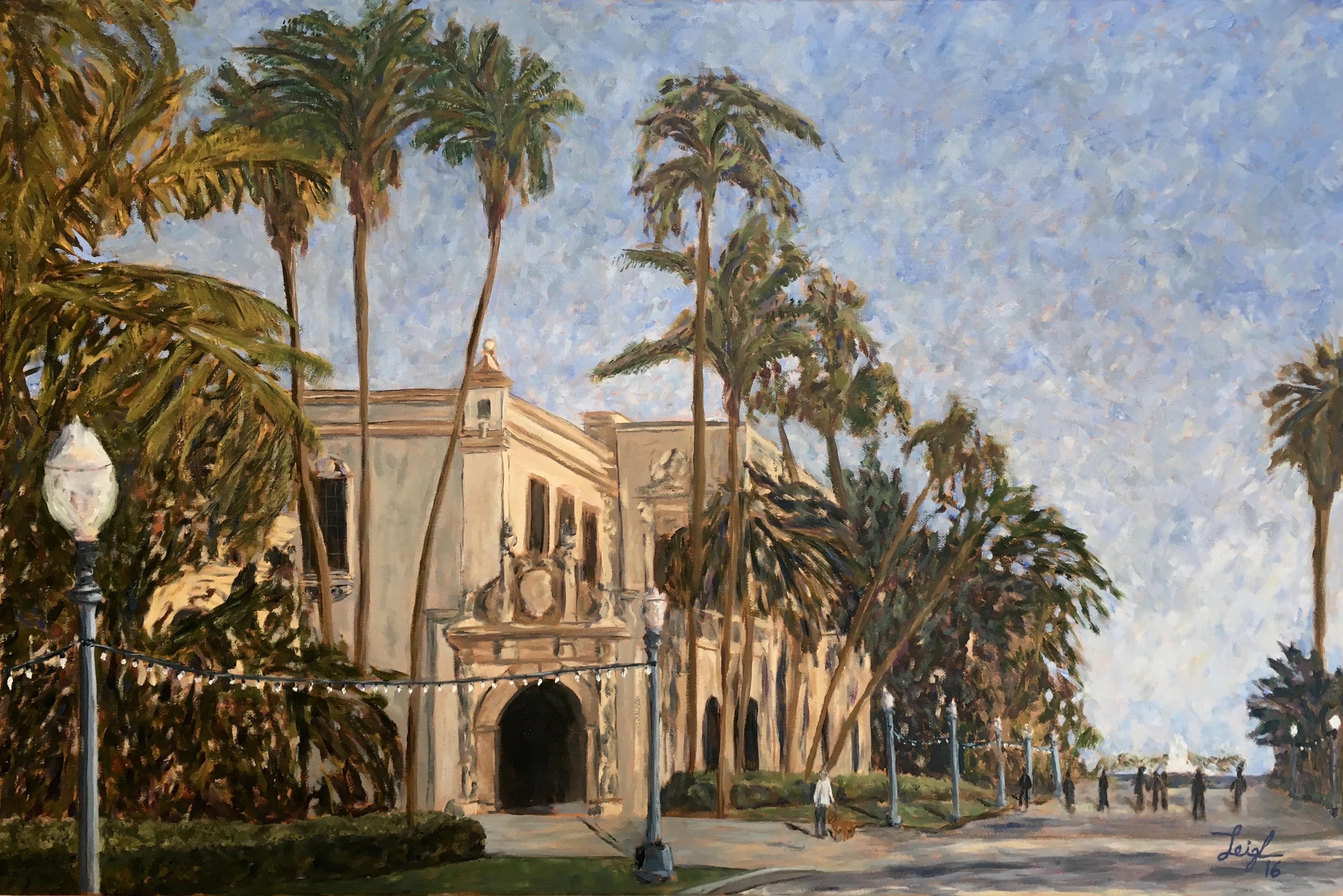 El Prado Post Centennial  ~   Balboa Park Conservancy, San Diego 2016  •  30 x 20