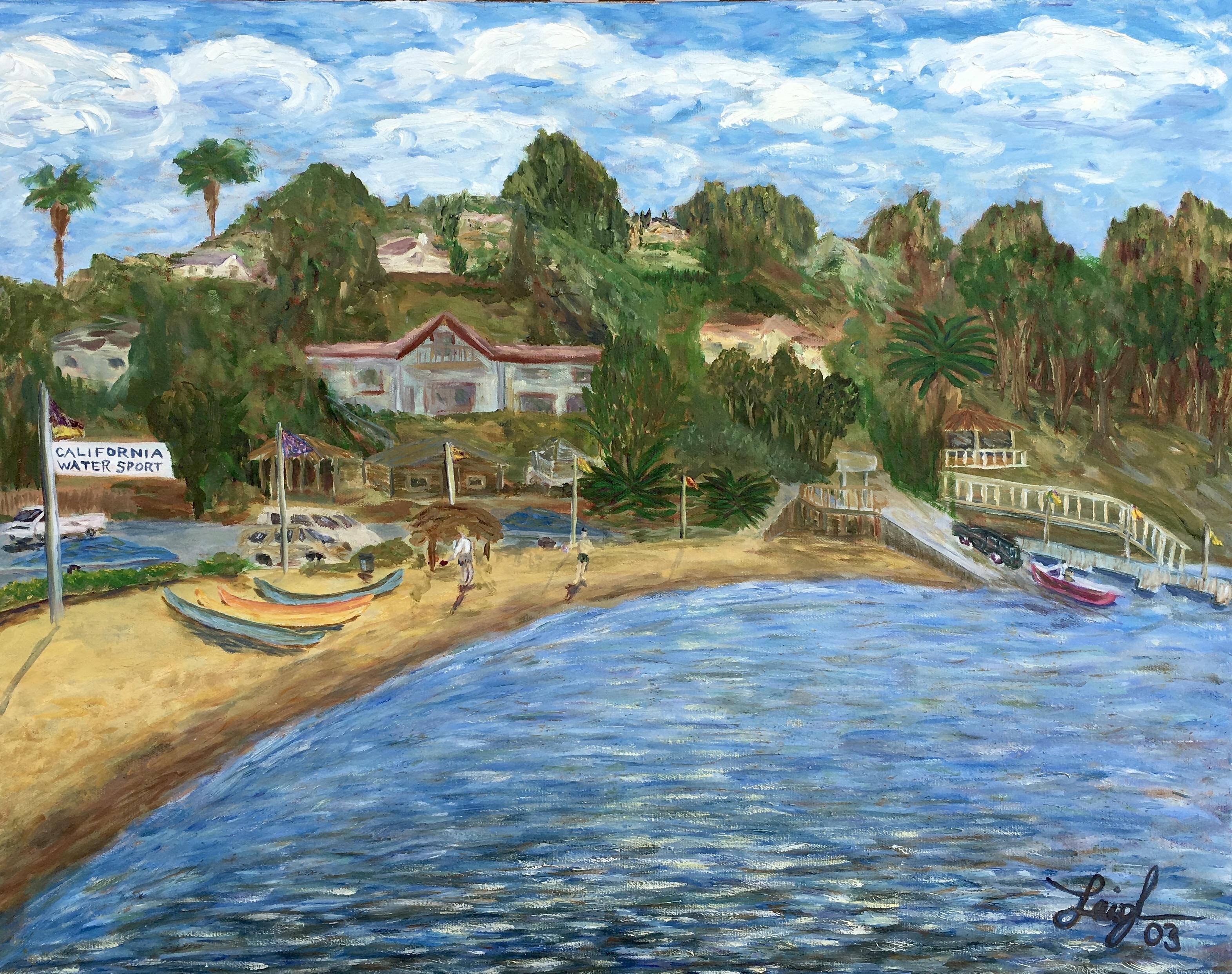 Snug Harbor  ~   2003  •  28 x 22