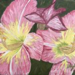 Backyard Lilies  ~   2006  •  30 x 24