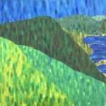 Cachuma Lake  ~   1978  •  36 x 24