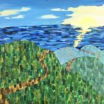 The Road to Enlightenment Lillian Kaplan, Westwood, CA 1972  •  24 x 30