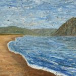 Morro Rock & Power Plant  ~   Michael & Jordonna Dores, Morro Bay, CA 2002 • 30 x 24