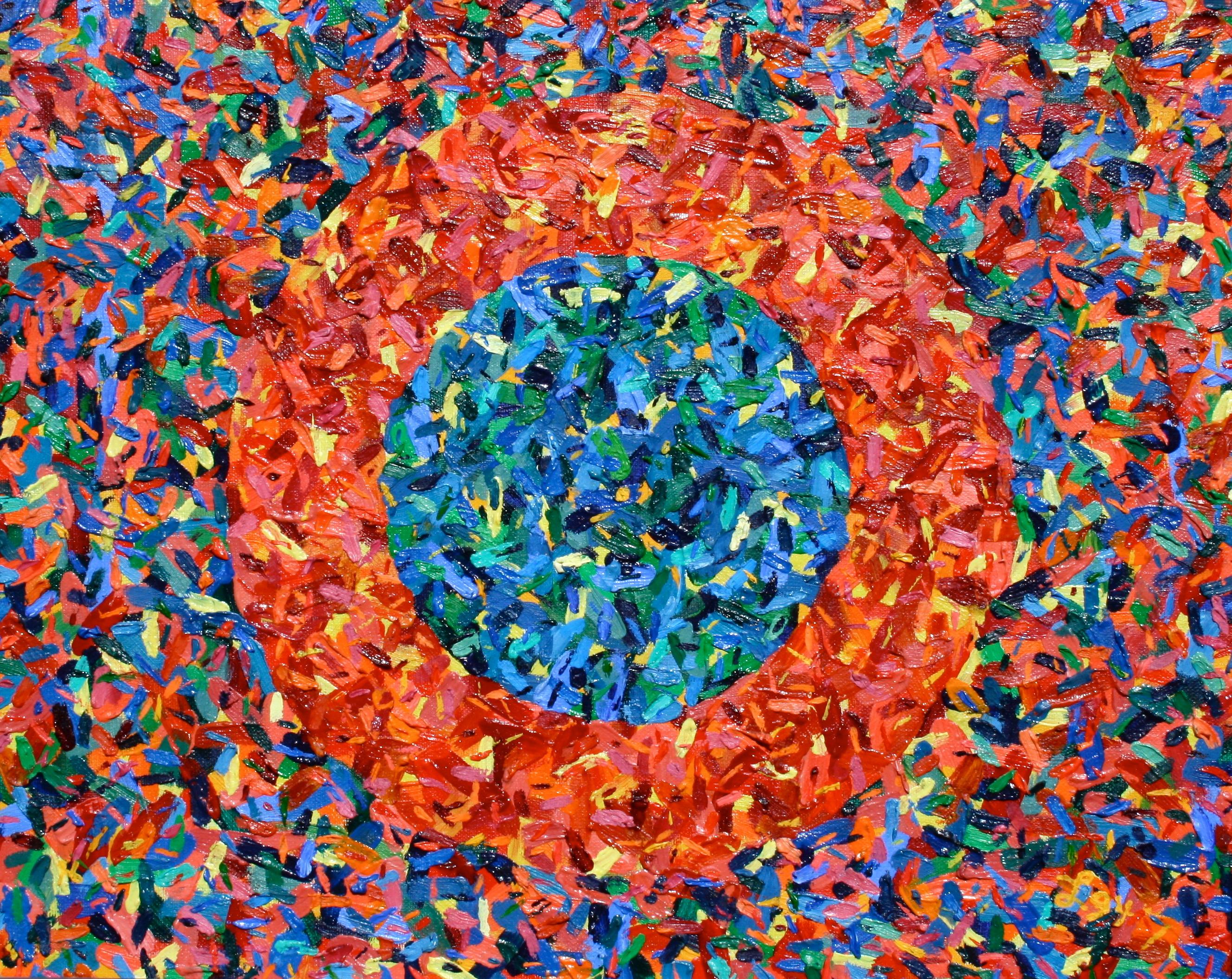 The Ellen Painting  ~   1994  •  20 x 16
