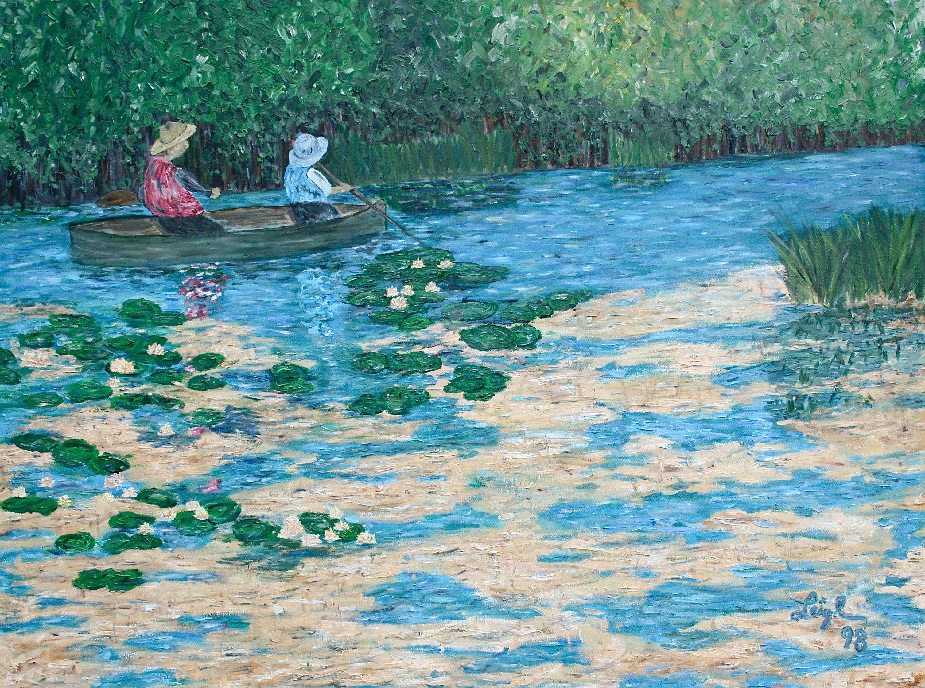 """""""Looks Kind of Like a Monet""""  ~   1998  •  40 x 30"""