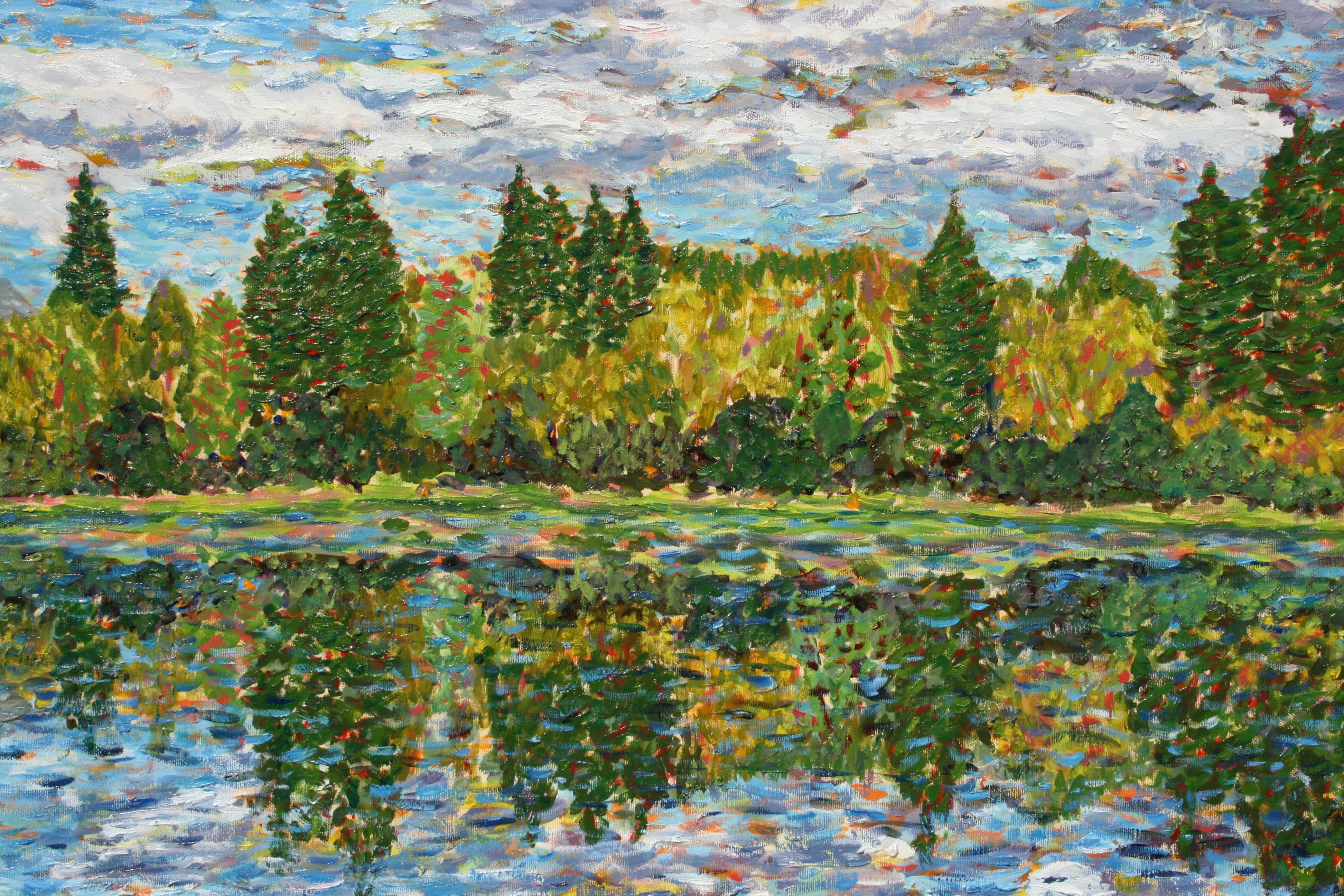 Swan River (detail)