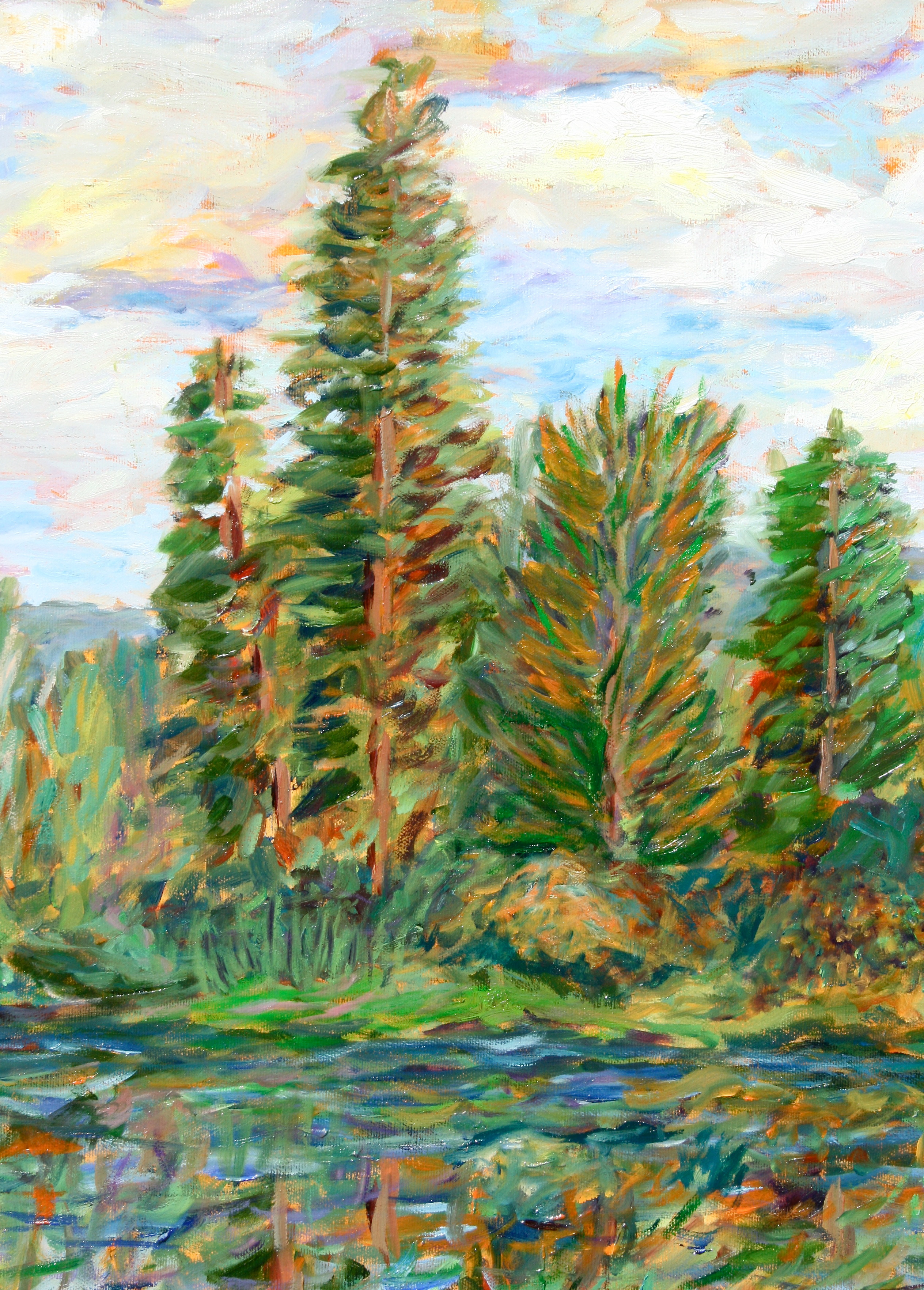 Heart Tree on Swan River (detail)