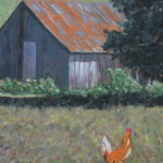Farmyard Chicken  ~   Greg Spiegal & Cindy Copeland 2015  •  11 x 14