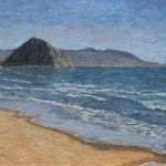 Morro Rock 2015  ~   Michael & Jordonna Dores. Morro Bay, CA 2015  •  40 x 30
