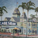 The Carlsbad Sign  ~   Carlsbad City Hall 2015  •  48 x 36