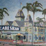 The Carlsbad Sign  ~   Carlsbad City Hall 2015  •  48 x 36