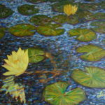 Homage to C.M.  ~   Laurie Smith Markevicius, Tucson, AZ  2010 • 40 x 30