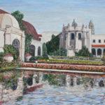 Botanical Reflection 1916  ~   2016  •  40 x 30