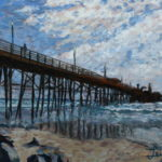 Oceanside Pier 2015  ~   Mark Jacobson, Santa Rosa, CA  2015 • 14 x 11