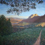 Hollister Peak at Sunset  ~   Ovidio Bermudez, Denver, CO 2011 • 48 x 36