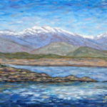 Diamond Valley Lake  ~   Art Jacobson, Murietta, CA 2011  •  14 x 11