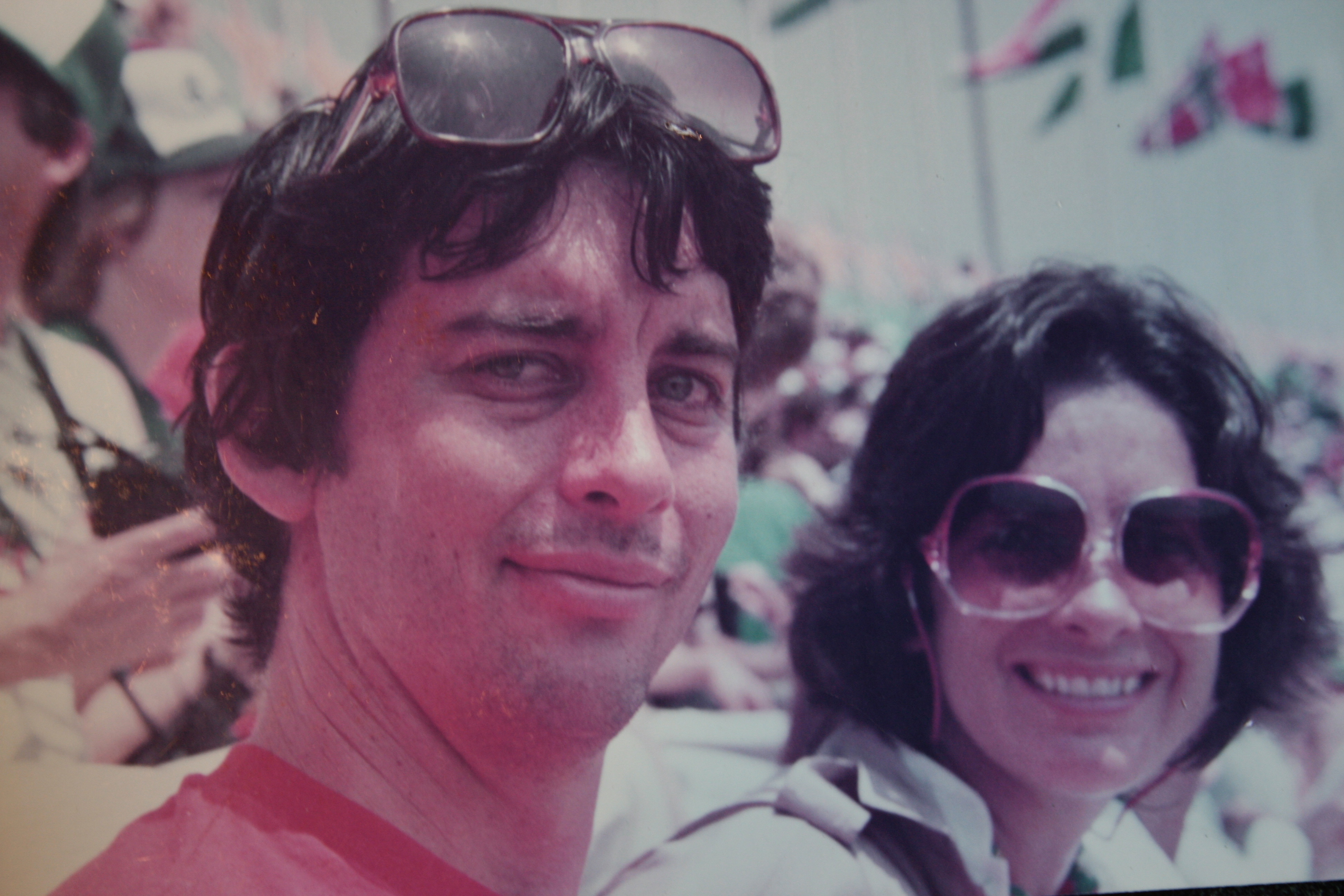 Leigh & Ellen at the '84 Olympics