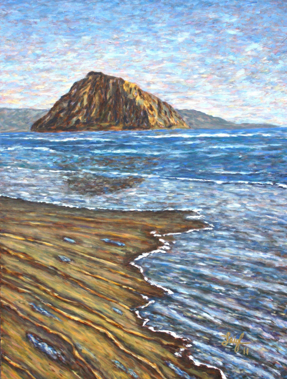 Morro Rock 11  ~   Howard Anton Duncan, Oceanside, CA 2011 • 30 x 40