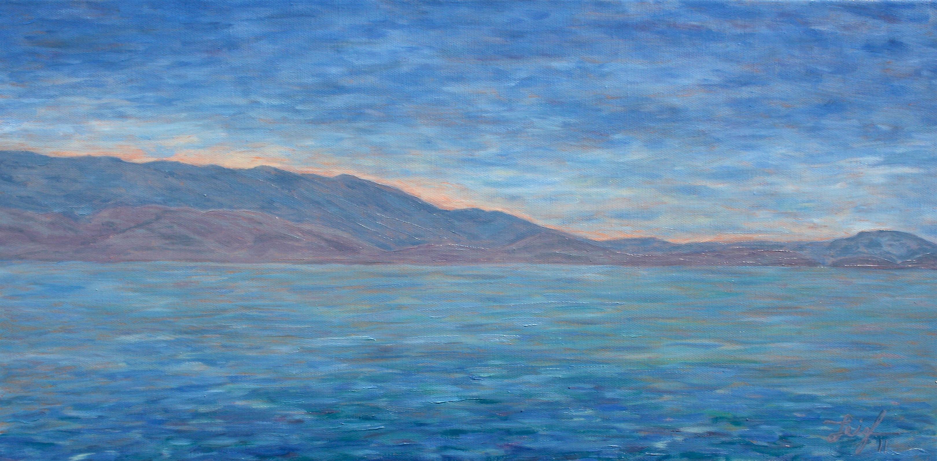 Flathead Calm  ~   Michelle Wolfson, Carlsbad, CA  2011  •  24 x 12