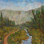 Trail to Jewel Basin  ~   Lynda Lipkin, Chicago, IL 2011  •  10 x 8
