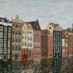Amsterdam Windows on the Water  ~  Pat & Linda Droll, Tucson, AZ 2017  •  36 x 24