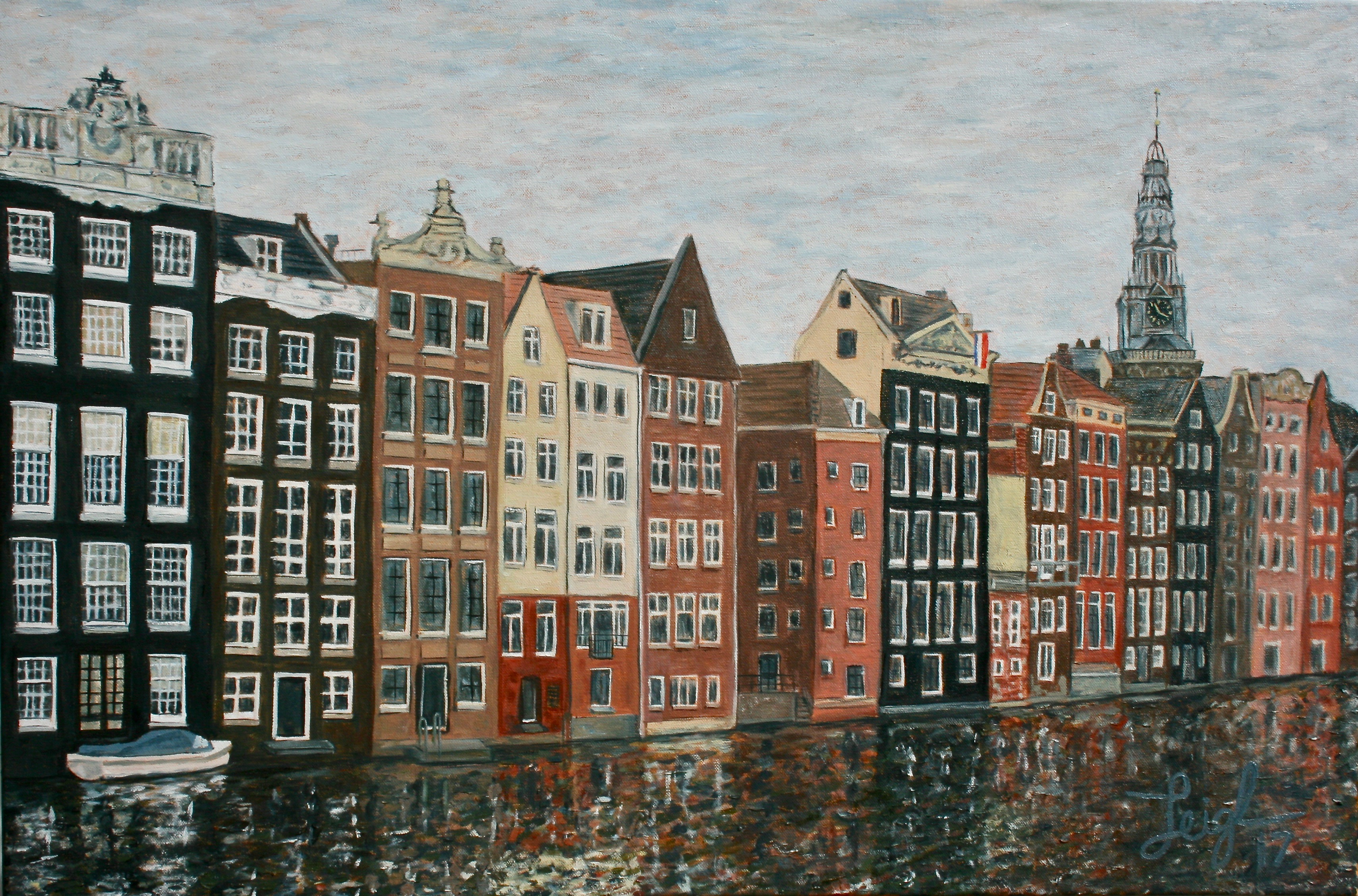 Amsterdam Windows on the Water  ~   2017  •  36 x 24