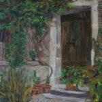 Garden Door  ~   Beth McGilley, Wichita, KS  2012 • 11 x 14