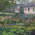 Monet's House in Giverny  ~   Lynn Grefe, New York, NY  2012 • 24 x 18