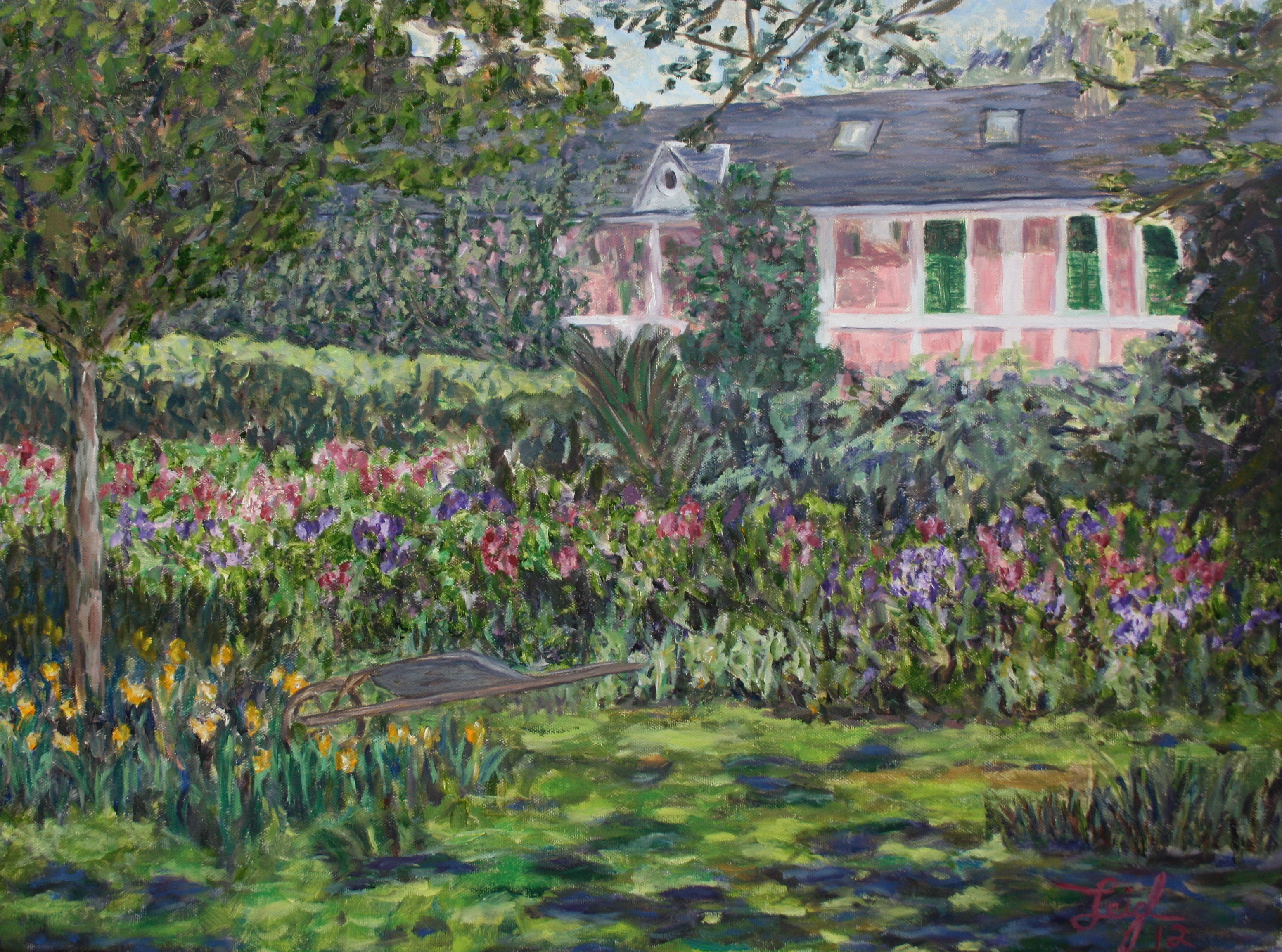 Monet's House in Giverny  ~   Lynn Grefe, New York, NY  2012 • 24 x 18