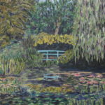 Monet's Japanese Bridge  ~   Carolyn Costin, Malibu, CA 2012  •  24 x 18