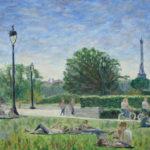 Sunday In the Park 2012  ~   Roberta Sherman. Bloomington, IN  2012 • 20 x 16
