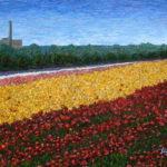 Carlsbad Flower Fields #6  ~   Cordelia Manis, Carlsbad, CA  2013  •  40 x 30