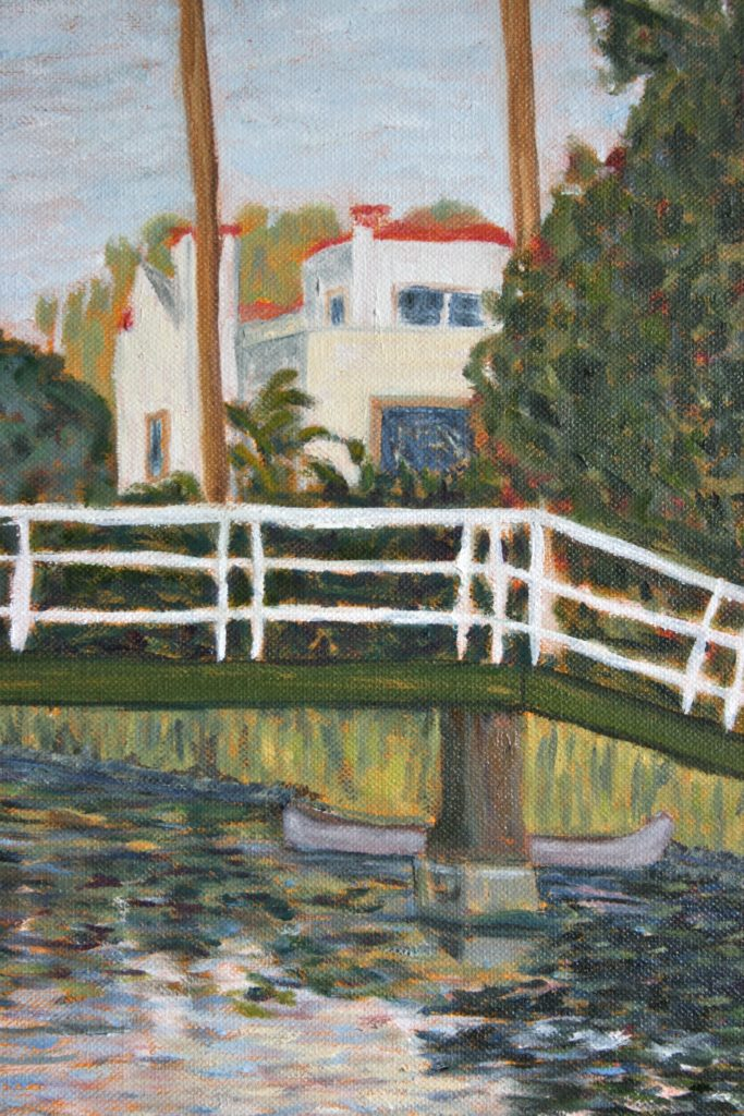 Venice, CA Canal #4 (detail)