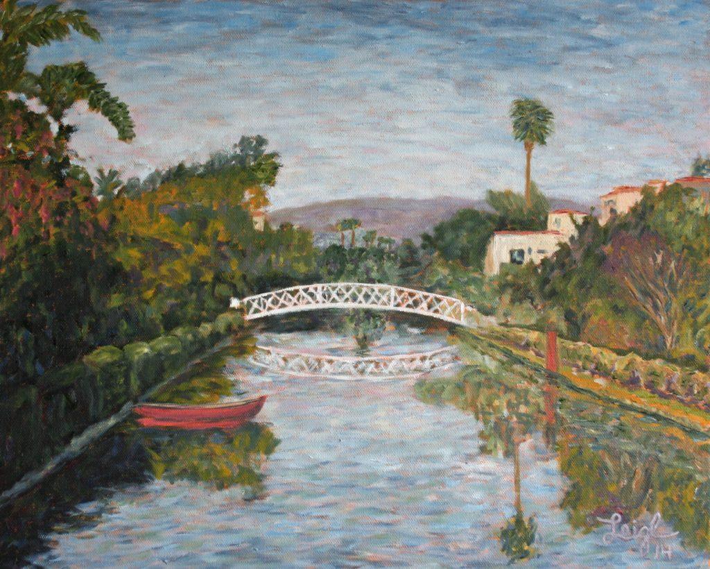 Venice, CA Canal #2  ~   Steve Emmett, Providence, RI 2014 • 20 x 16