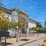 San Diego Museum of Art  ~   2014 • 24 x 18