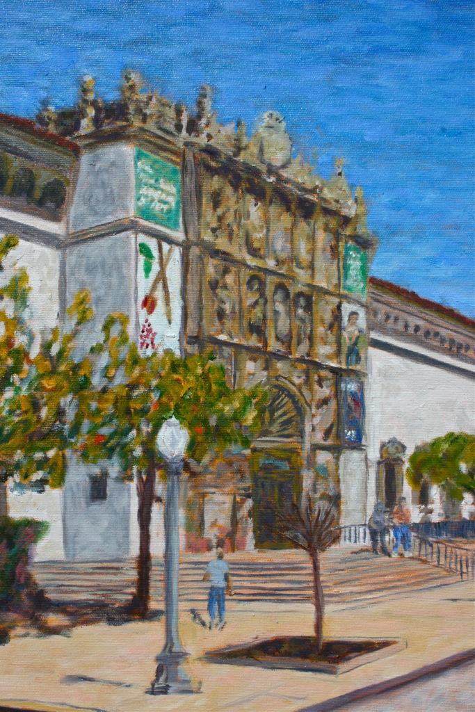 San Diego Museum of Art detail
