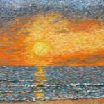 Sunset 2015 #4  ~   David Garner Sylvania, OH  2015 • 24 x 18